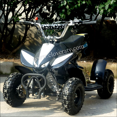 Petrol Powered Electric Start 49cc Atv Quad Atv With Motor