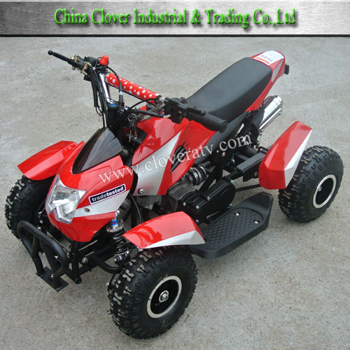 Electric Start Petrol 49cc Kids Atv Mini Motor Bike 49cc With Battery