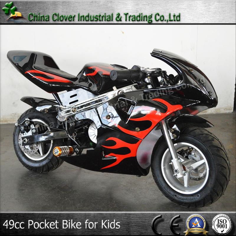 Flame Style Moto Bike 49cc