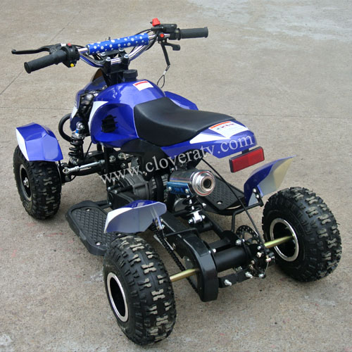 air cooled 2 stroke mini 49cc atv quad bike from chinese factory. Black Bedroom Furniture Sets. Home Design Ideas