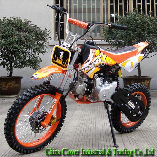 50cc 110cc 125cc Dirt Bike 4 Stroke Engine Type Mini Pocket Bike