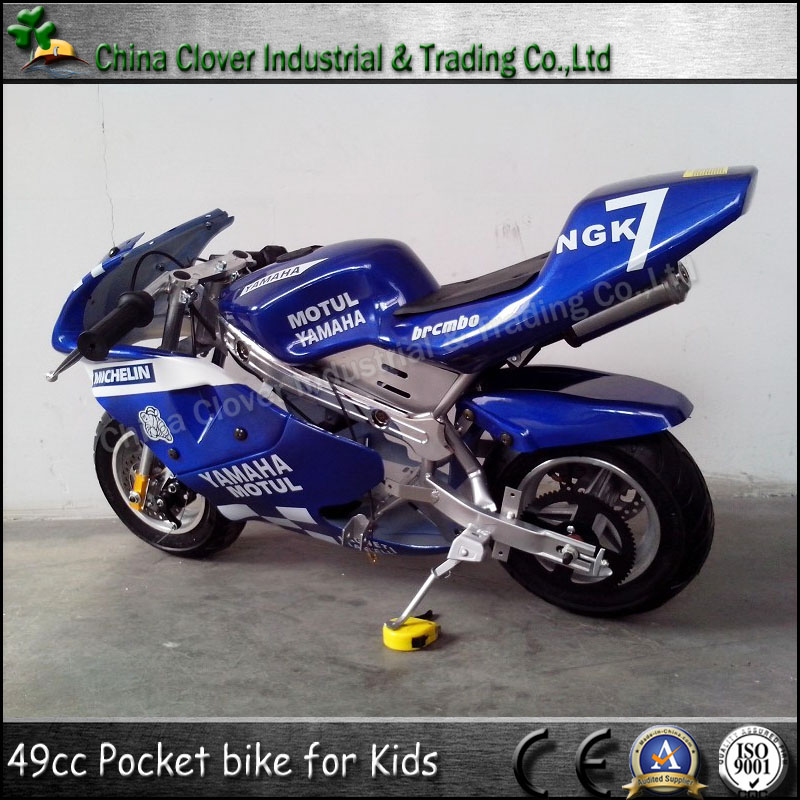 Blue Color Motorcycle 49cc