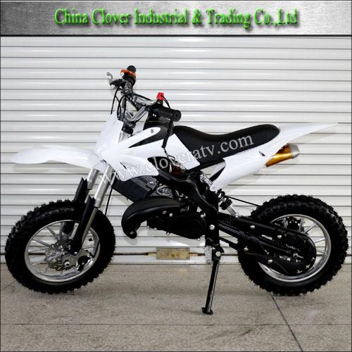 Used Chain Drive Mini 49cc Dirt Bike Motorbikes With Electric Start